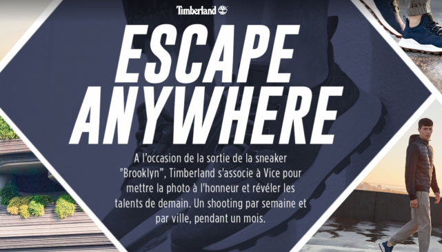 concours street photo vice timberland
